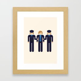 Three droogs 02 Framed Art Print