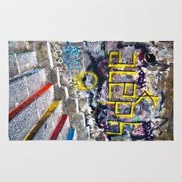 Sicilian Facade with Graffiti Rug