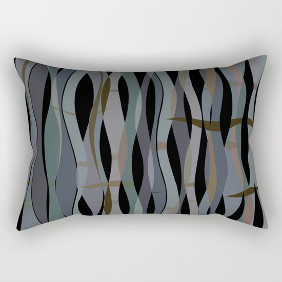 waves 04 Rectangular Pillow
