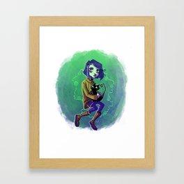 Coraline_v19 Framed Art Print
