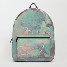 Delicate Shadow Marble Backpack