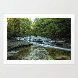 Ledge Falls, No. 2 Art Print