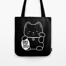 Stay Lucky BLK Tote Bag