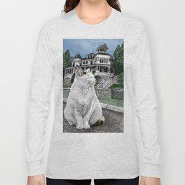 Mackinac Island Cat Long Sleeve T-shirt