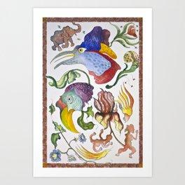 Edens Revenge Art Print