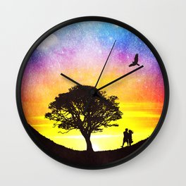 When the stars were shining Wall Clock
