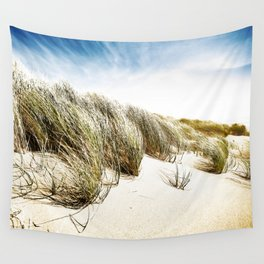 Sea and Sand, Kellogg Beach, Crescent City, California. Wall Tapestry