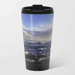 Jokulsarlon Lagoon Beach 08  Travel Mug
