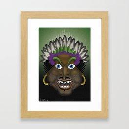 Pacific Islander 'Munday Goode' Framed Art Print