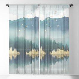 Mist Reflection Sheer Curtain