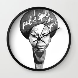 Nina Simone - I Put A Spell On You Wall Clock