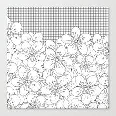 Cherry Blossom Grid - In Memory of Mackenzie Canvas Print