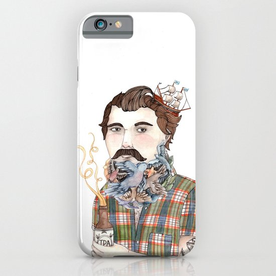 Flock of Beards iPhone & iPod Case
