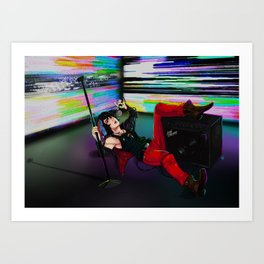 Julian Casablancas Art Print