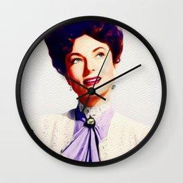 Agnes Moorehead, Vintage Actress Wall Clock