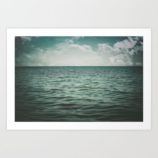 Into The Sea Of Lost Souls Art Print
