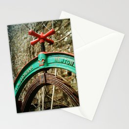 OLD LAUNDRY MANGLE TOP Stationery Cards