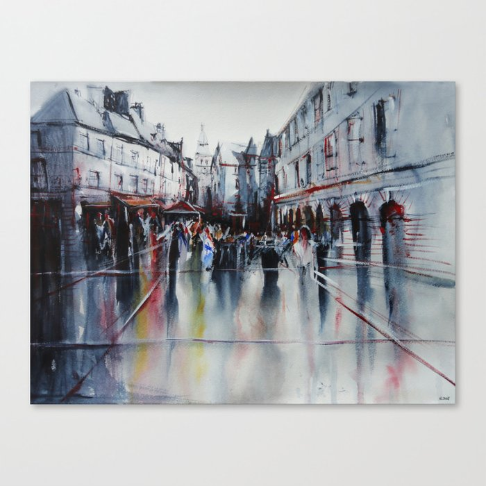 French village Canvas Print