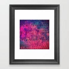 cat-104 Framed Art Print