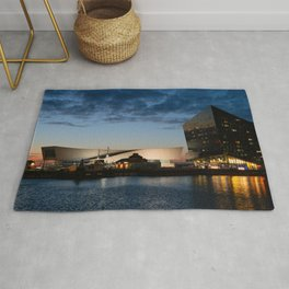 The Salthouse Dock At Night Rug