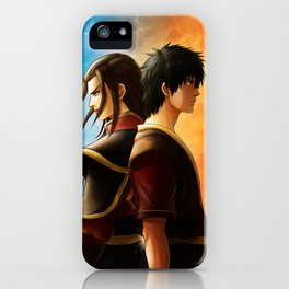 Azula and Zuko iPhone Case