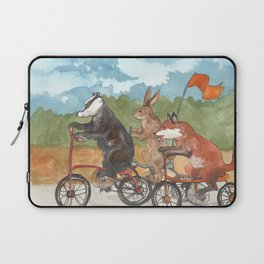 Bike Race Laptop Sleeve