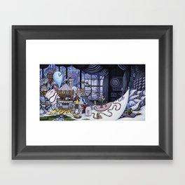 The Arrival Framed Art Print
