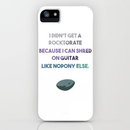 Maud's Rocktorate... iPhone Case