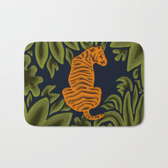 Deep in the Jungle Bath Mat