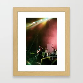 Hippo Campus at Governor's Ball 2019 Framed Art Print