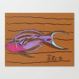 Sea Surgeon Canvas Print