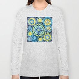 Mosaic Pinwheels Long Sleeve T-shirt