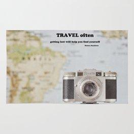 Travel often Rug