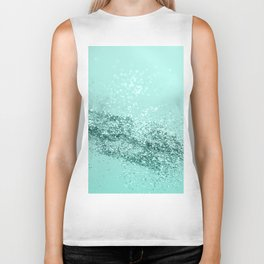 Summer Vibes Glitter #7 #mint #shiny #decor #art #society6 Biker Tank