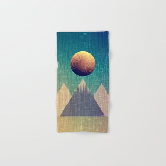 Moonrise Abstract Hand & Bath Towel