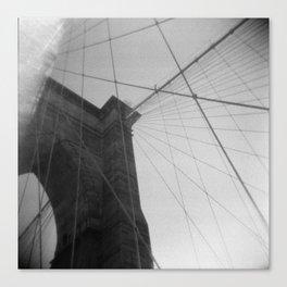 Brooklyn Bridge 04, Holga Canvas Print