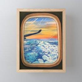 Above The Clouds Framed Mini Art Print