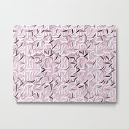 Pink Smoothie Metal Print