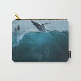 Where the sky meets the ocean Carry-All Pouch