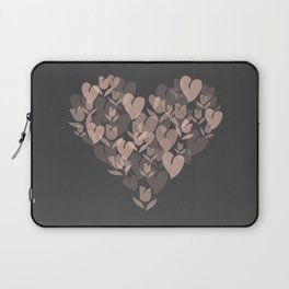 Love and Tulips Laptop Sleeve