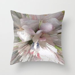 Abstract apple tree Throw Pillow