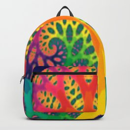 A Tree Dreaming In Color Backpack
