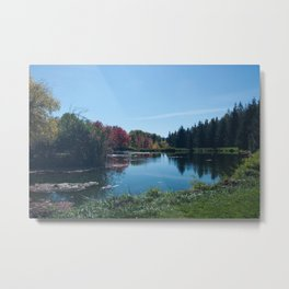 Fall Landscape Photography Print Metal Print