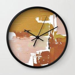 Spring Crossing Abstract Horizon Wall Clock