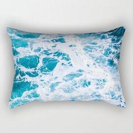 Perfect Ocean Sea Waves Rectangular Pillow