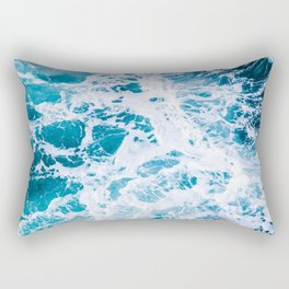 Perfect Ocean Sea Waves Rectangular Pillow
