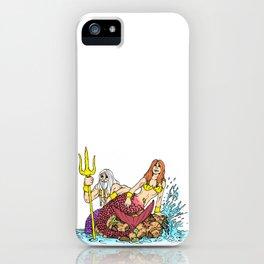 Merman & Mermaid iPhone Case