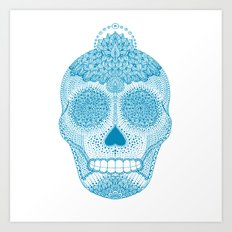 Cosmic Blue Art Print
