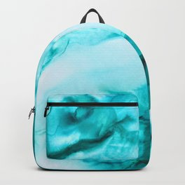 Turquoise Ink Backpack