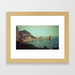 Amalfi coast, Italy 2 Framed Art Print